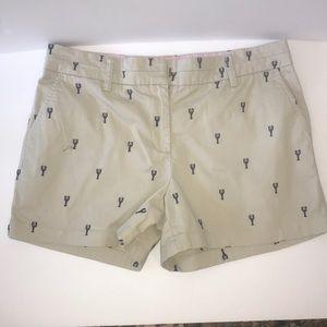 British Khaki shorts size 10